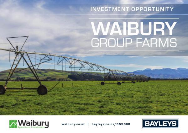Waibury Group Farms Brochure Waibury Group Farms Brochure [READ]