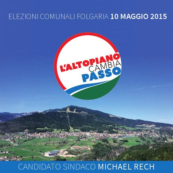 Programma Elettorale della lista L'Altopiano Cambia Passo Elezioni2015