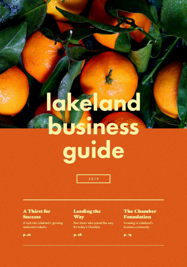 Lakeland Business Guide 2019 Chamber Guide_2019