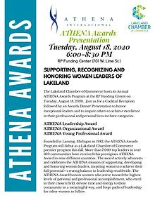 ATHENA Awards Sponsorship Opportunities