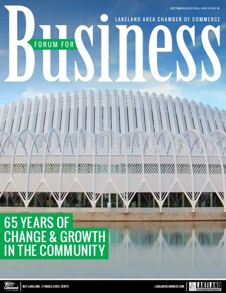 Forum For Business October