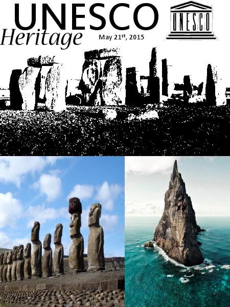 UNESCO May 2015 Exclusive Heritage Issue Volume 1