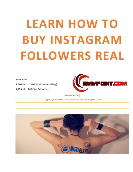 Learn How to buy Instagram followers and likes Apr. 2015