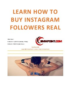 Learn How to buy Instagram followers and likes