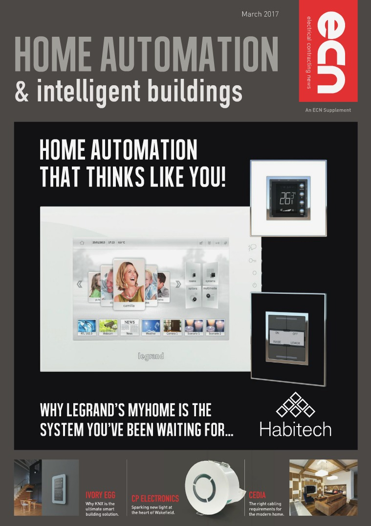 Electrical Contracting News (ECN) Home Automation & Intelligent Buildings March 2017
