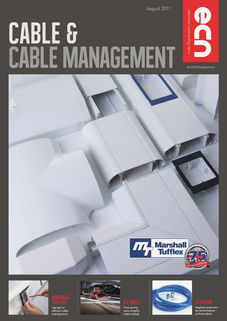 Electrical Contracting News (ECN) Cable & Cable Management 2017