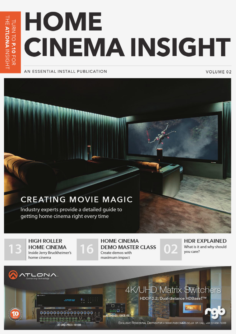 Essential Install Home Cinema Insight