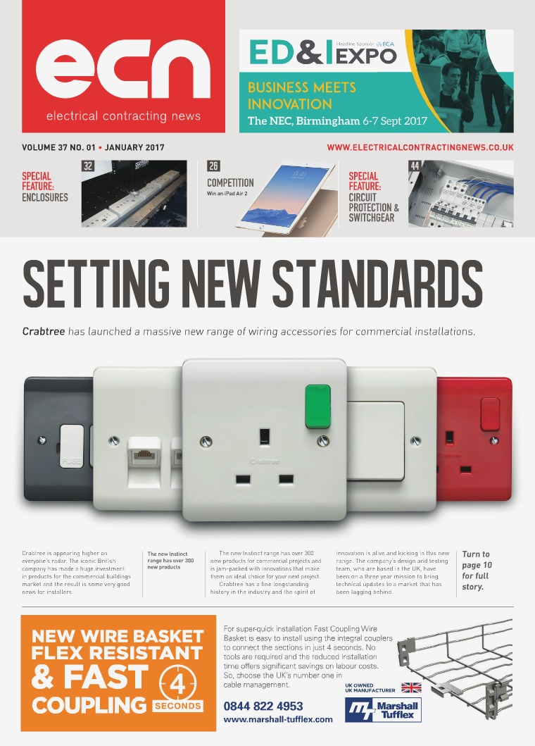 Electrical Contracting News Ecn January 2017 Joomag Newsstand Mk Wiring Devices Catalogue 2016