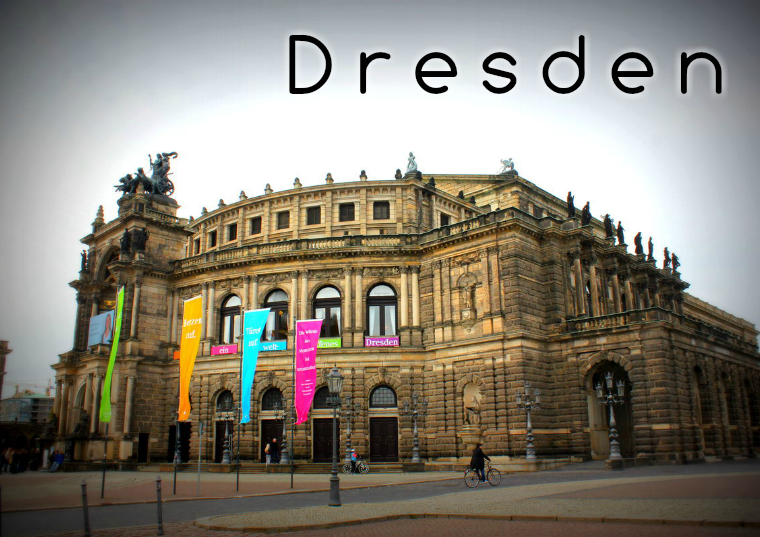 """Travel the world Travel the world - """"Dresden, Germany"""""""