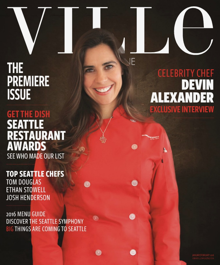 Ville Magazine l Insider Access for City Lifestyle Jan/Feb 2016 / Premiere Issue