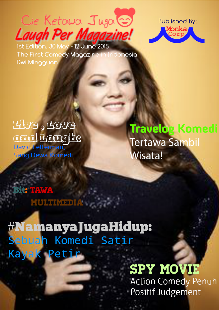 Laugh Per Magazine! 1st Edition (30 May - 12 June 2015)