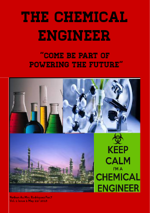 How to Become a Chemical Enginer May 2015