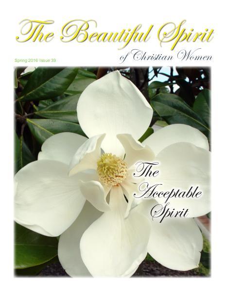 The Beautiful Spirit Magazine Spring 2016