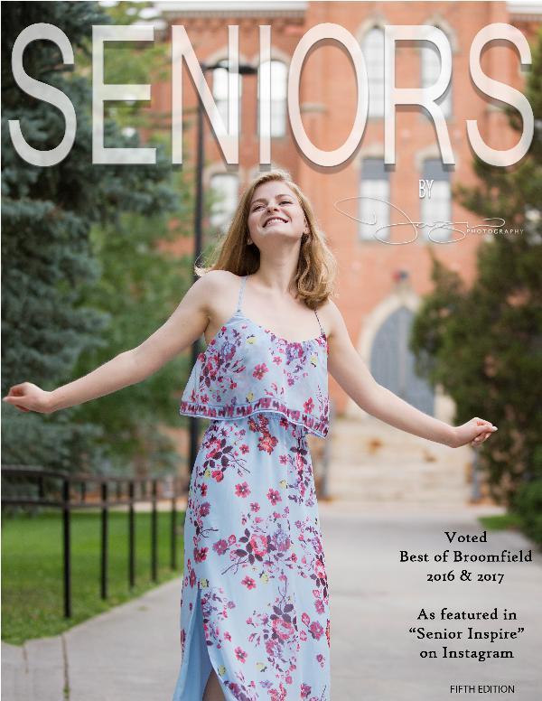 Teresa Fazio Photography Seniors Guide- Class of 2019 Seniors - print for Senior packets2018