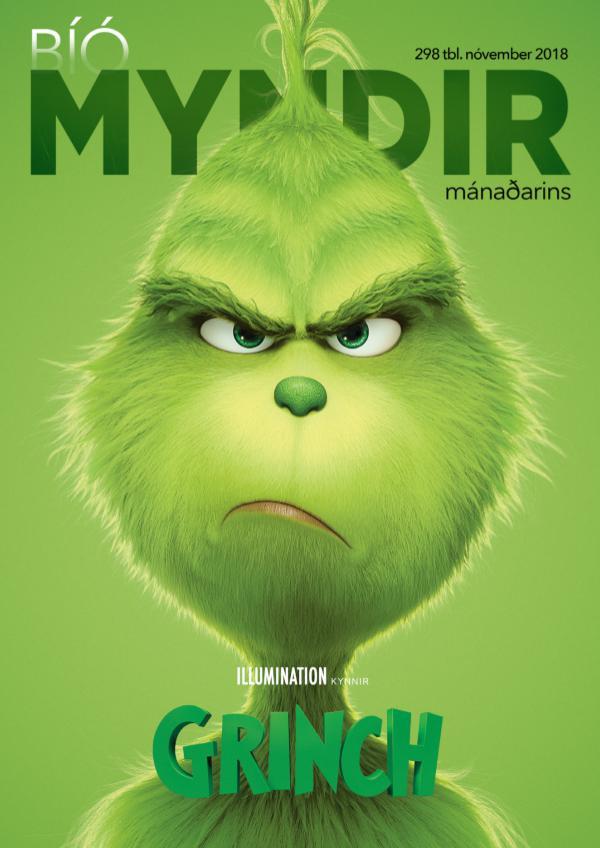 Myndir mánaðarins Nóvember 2018 tbl. 298 BR-DVD-VOD-Tölvuleikir