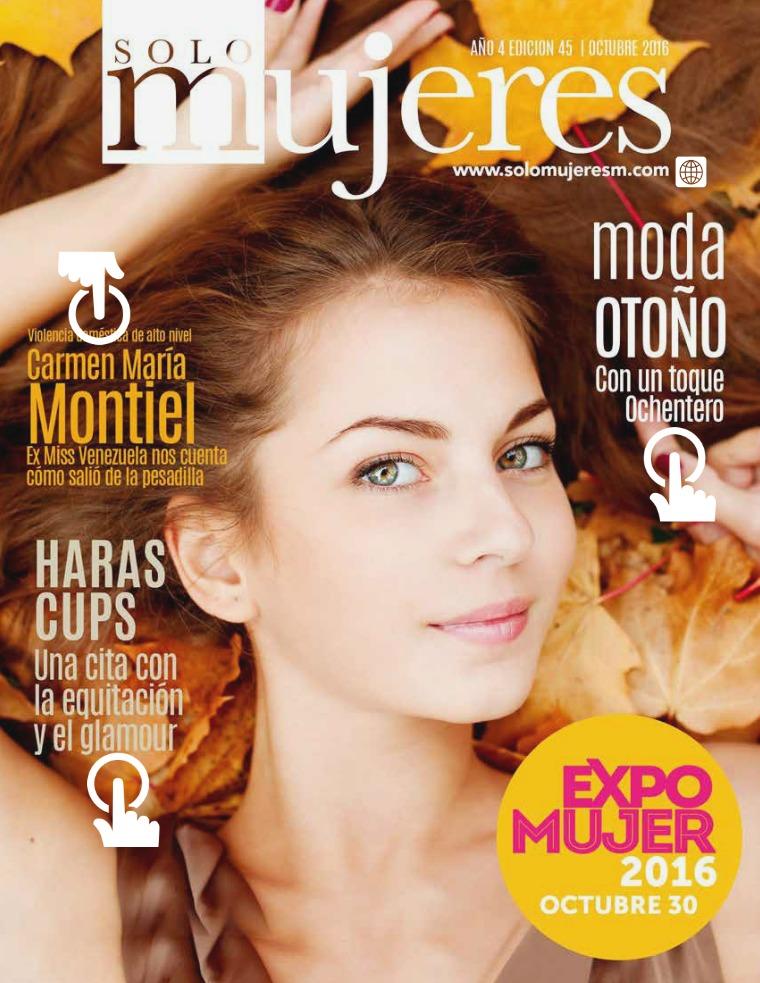 Sólo Mujeres Magazine octubre 2016