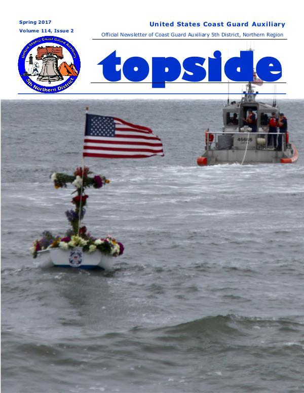 Topside Spring 2017 Newsletter