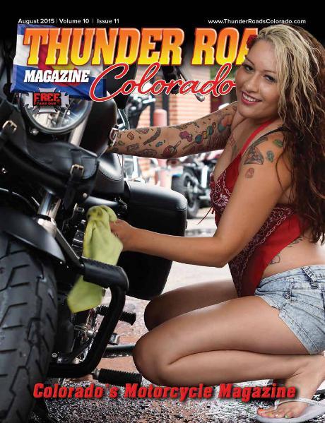 Thunder Roads Colorado Magazine Volume 10 - Issue 11