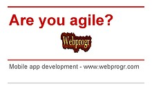 Are you agile-   - Mobile app development