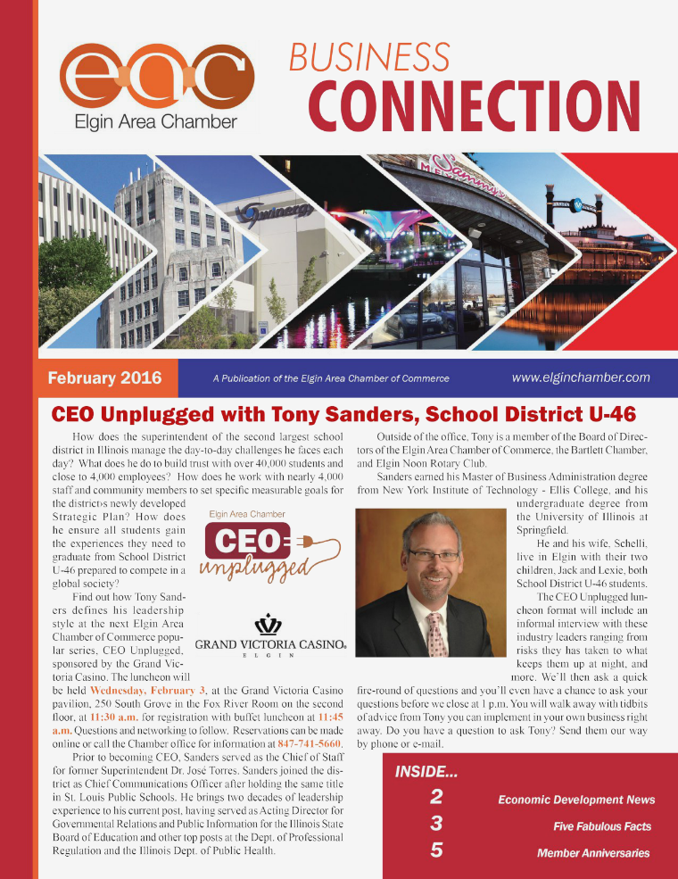 February 2016 EAC Business Connection February 2016