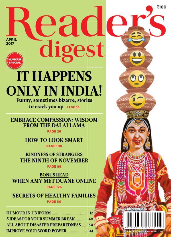 Reader's Digest April 2017