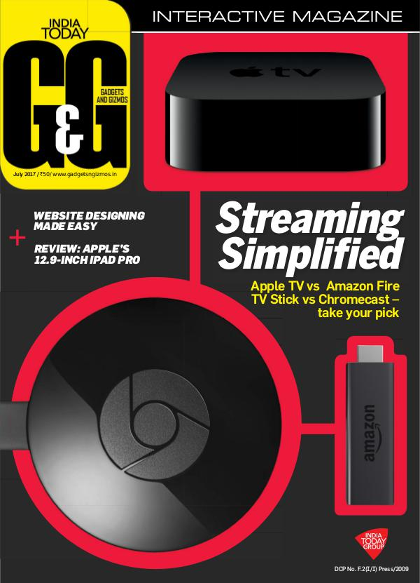 Gadgets and Gizmos July 2017
