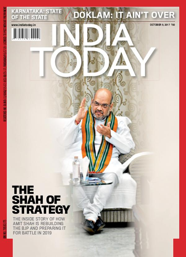 India Today 9th October 2017
