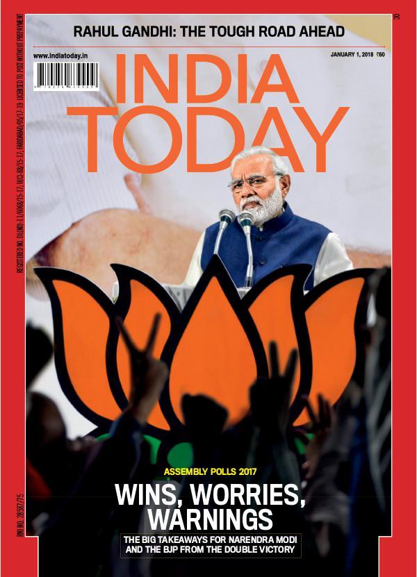 India Today 1st January 2018