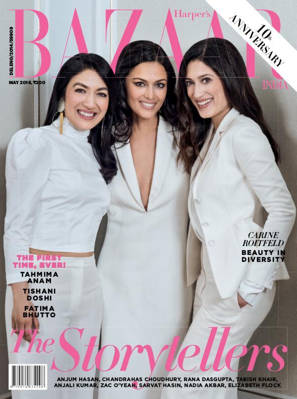 Harper's Bazaar May 2018