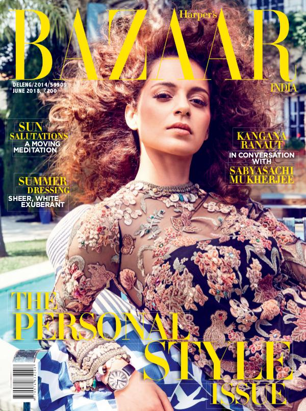 Harper's Bazaar June 2018