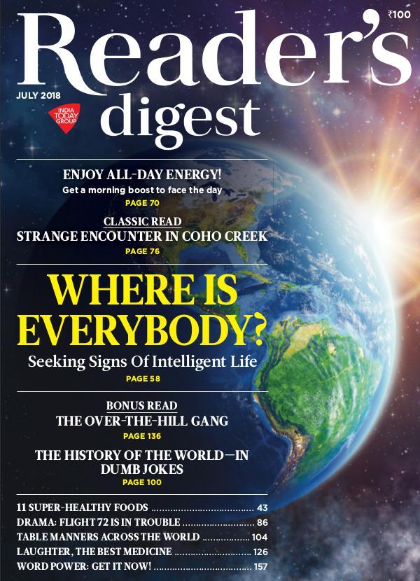 Reader's Digest July 2018
