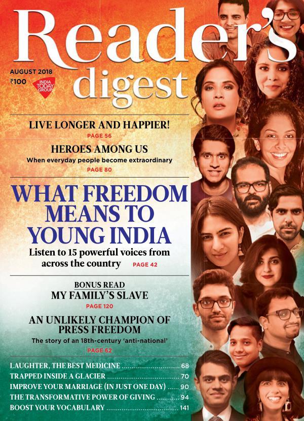 Reader's Digest August 2018