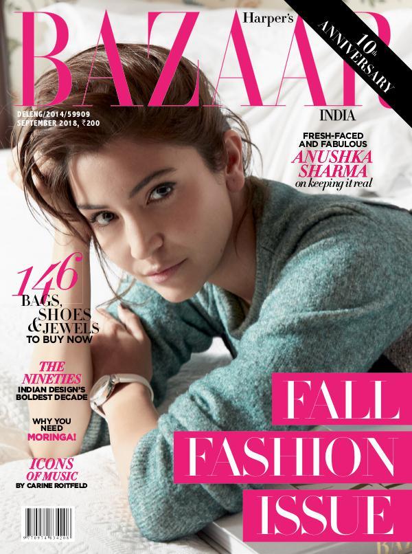 Harper's Bazaar September 2018
