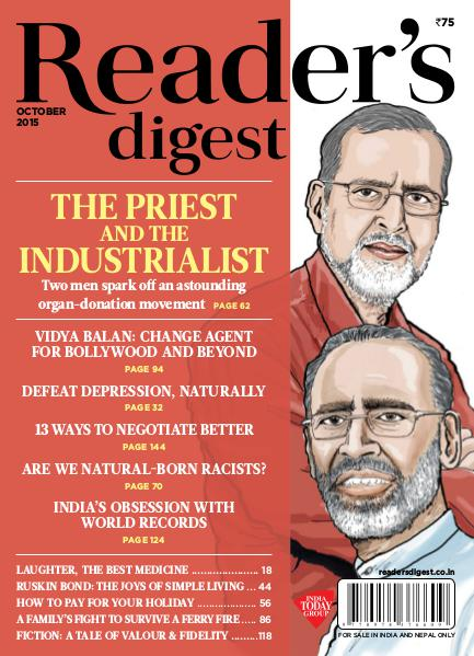 Reader's Digest October 2015