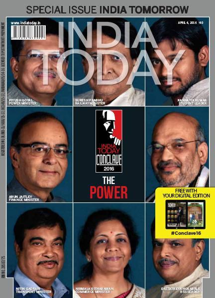 India Today 4th April 2016