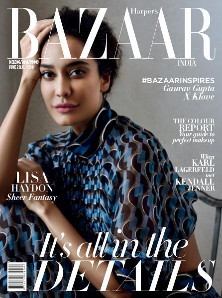 Harper's Bazaar June 2016