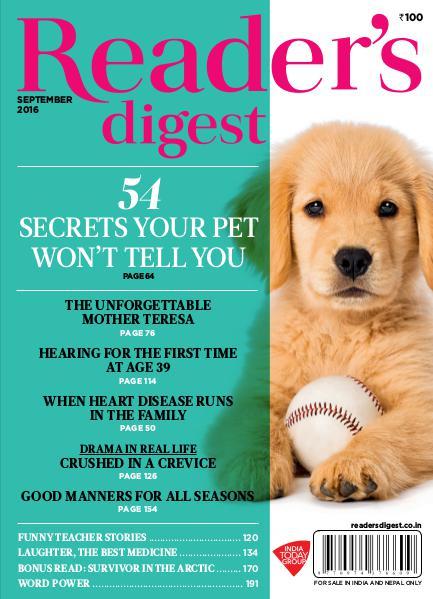 Reader's Digest September 2016