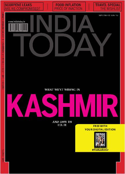 India Today 12th September 2016