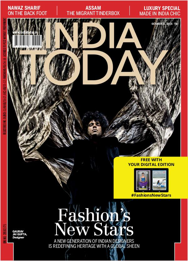 India Today 31st October 2016