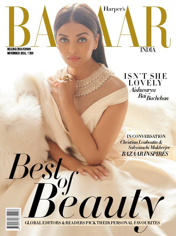 Harper's Bazaar November 2016