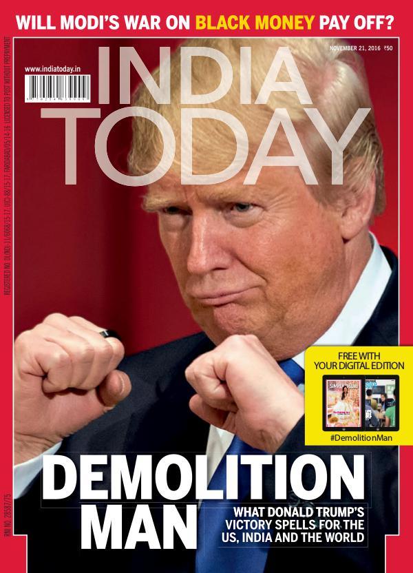 India Today 21st November 2016
