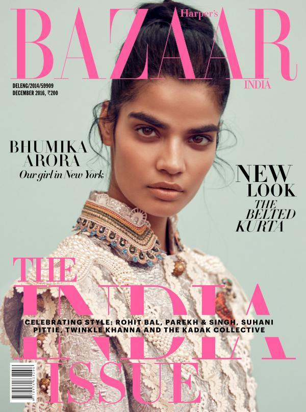 Harper's Bazaar December 2016