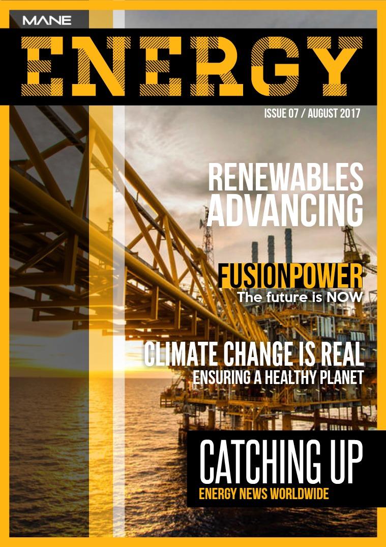 Mane Energy Issue 7 - August 2017