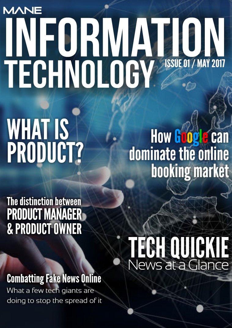 Mane Product & Technology Issue 1 - May 2017