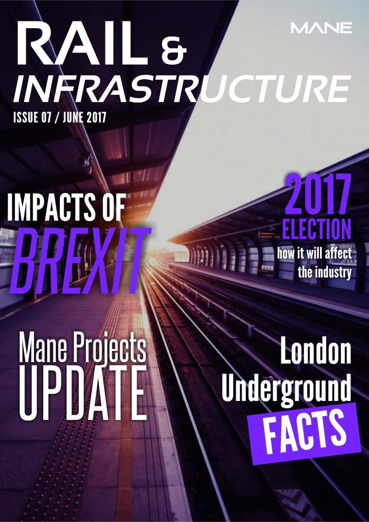 Mane Rail & Infrastructure Issue 7 - June 2017
