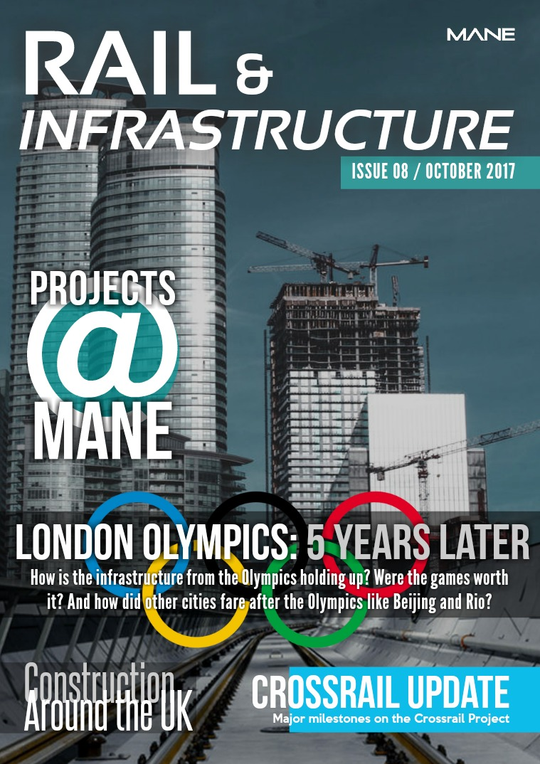 Mane Rail & Infrastructure Issue 8 - October 2017