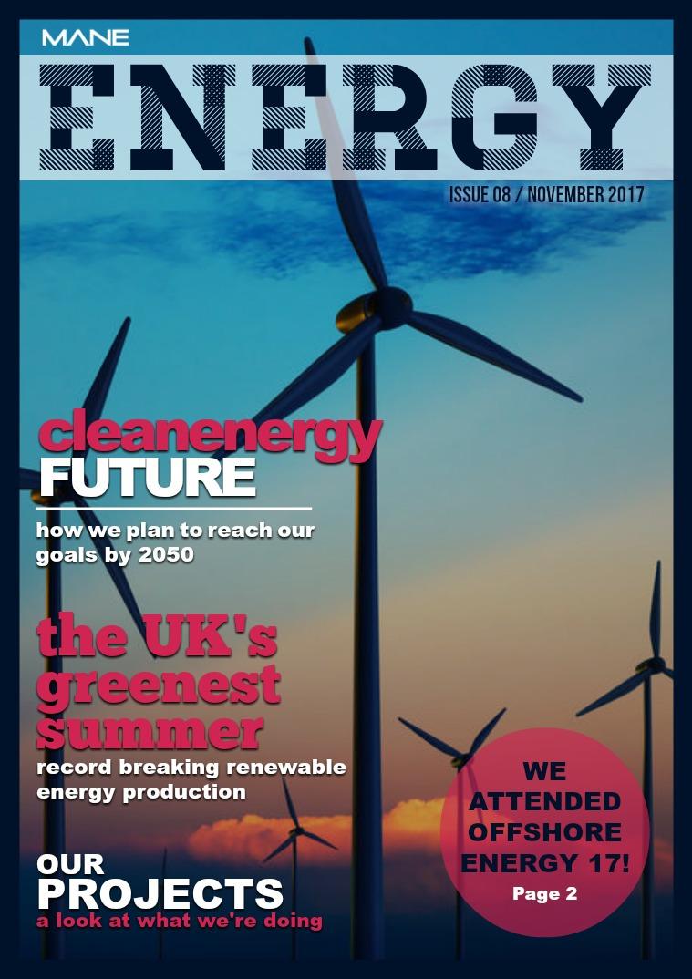 Mane Energy Issue 8 - November 2017