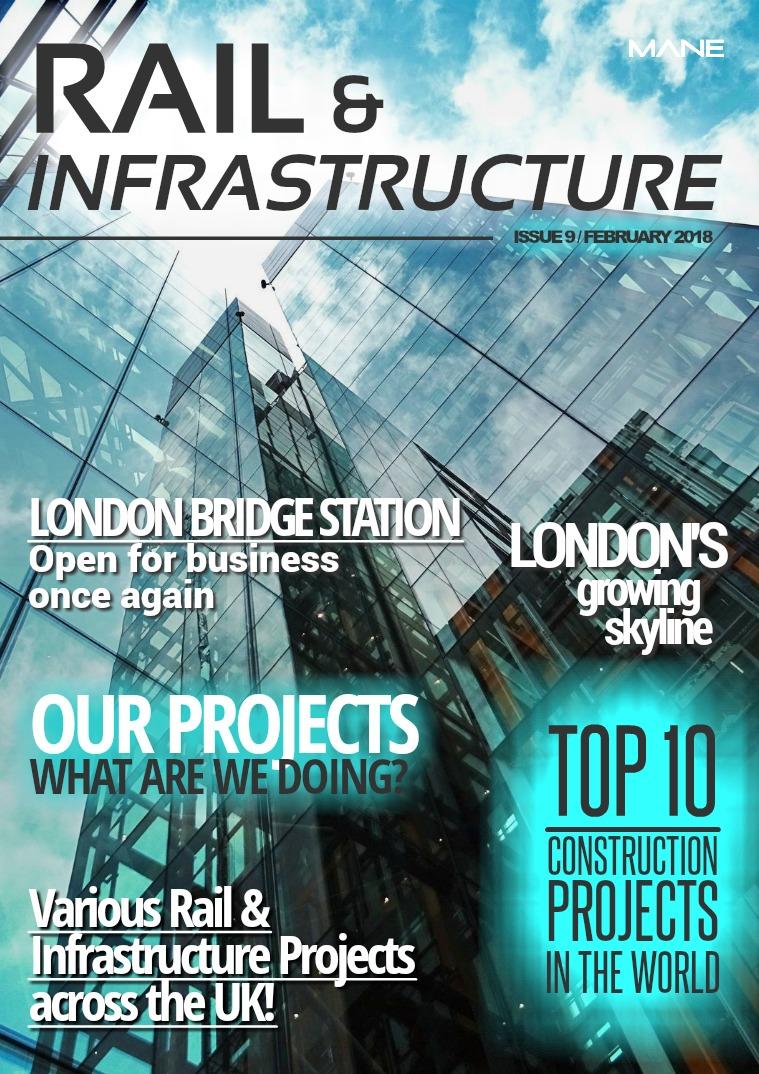 Mane Rail & Infrastructure Issue 9 - February 2018