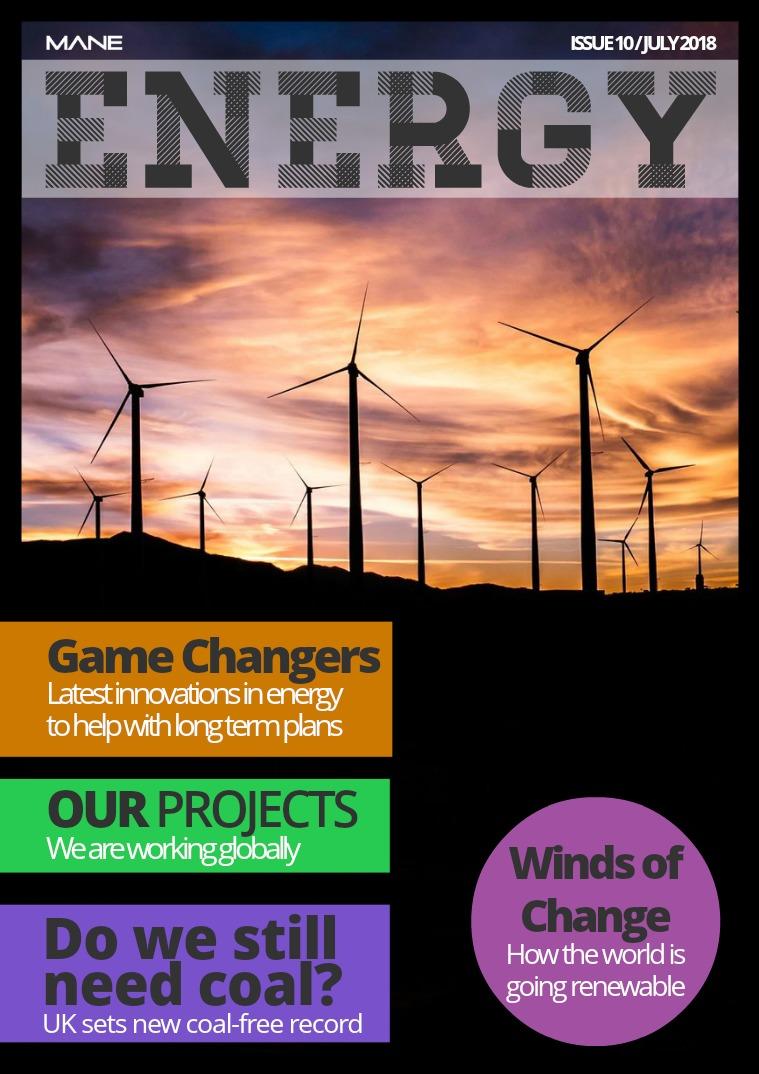 Mane Energy Issue 10 - July 2018
