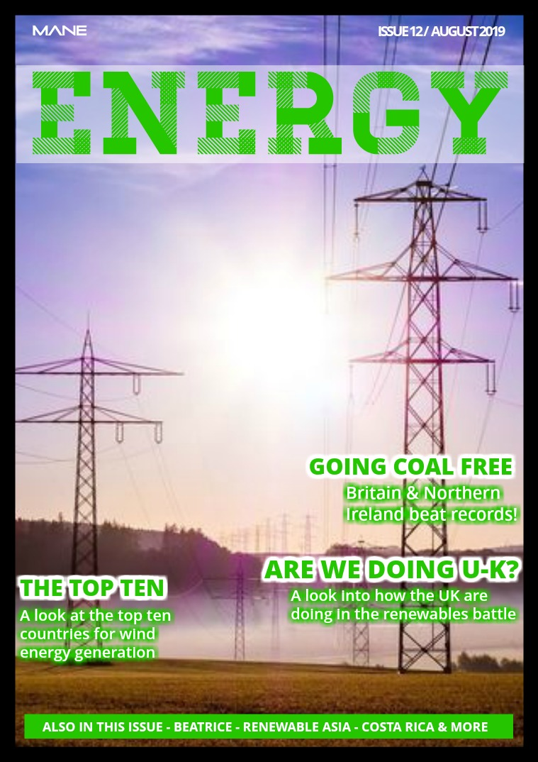 Mane Energy Issue 12 - August 2019